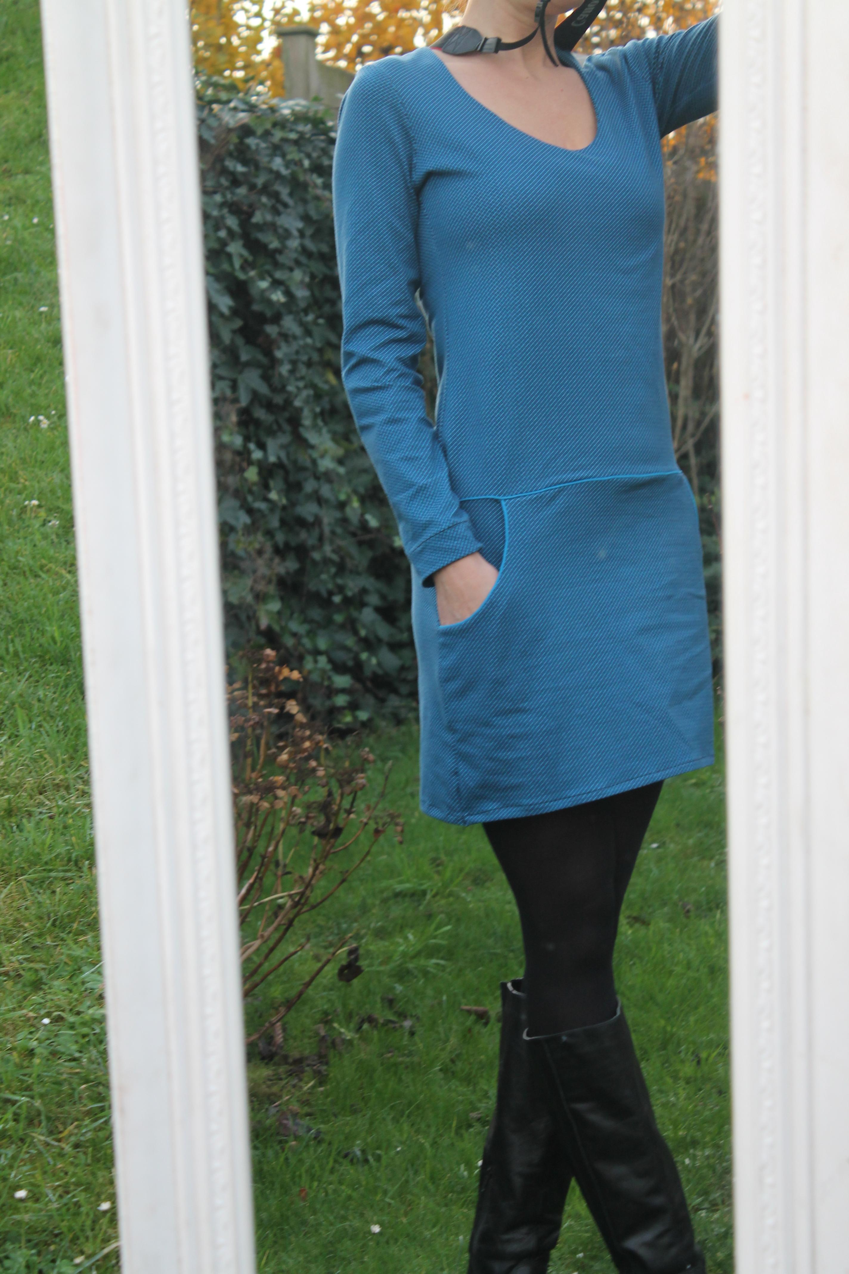 Wonderbaar FOTOTUTORIAL kleedje met zakken   YeRaSi FY-65